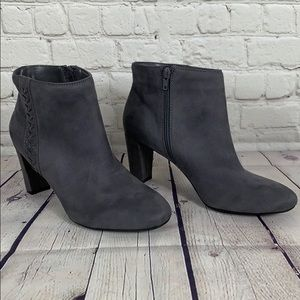 A2 by Aerosoles Avenue A Gray Booties Size 9.5